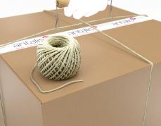 Sisal touw op rol om producten te bundelen